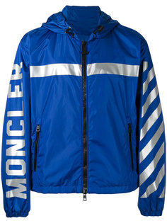 stripe hooded jacket Moncler X Off-White