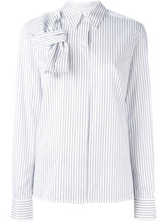 bow detail striped shirt Victoria Victoria Beckham