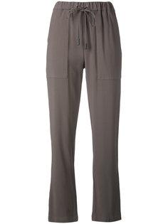 брюки со шнурком Eleventy