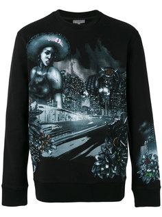 printed sweatshirt  Lanvin