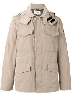 куртка с капюшоном и накладными карманами Peuterey