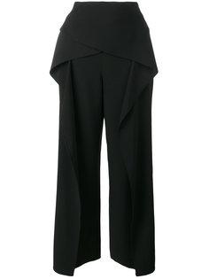 укороченные широкие брюки Roland Mouret