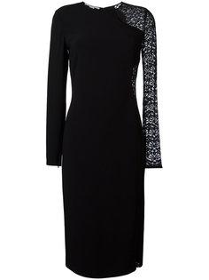 платье с кружевной вставкой Stella McCartney