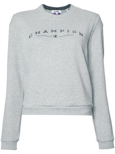 Reconstructed Champion Sweater Re/Done