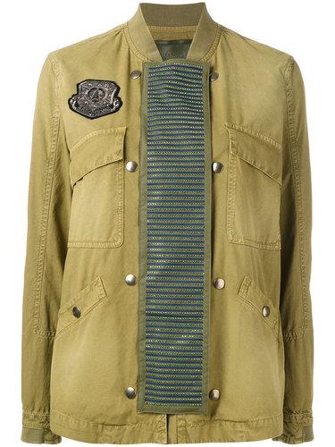 embellished panel bomber jacket Mr & Mrs Italy