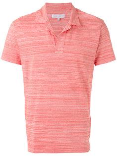 футболка-поло в стилизованную полоску Orlebar Brown