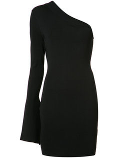 single sleeve fitted dress Solace