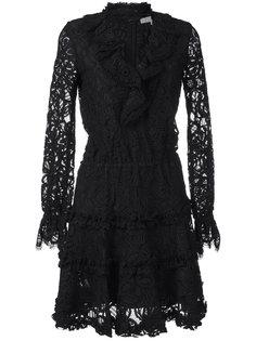 трикотажное платье с воротником-чокером Alexis