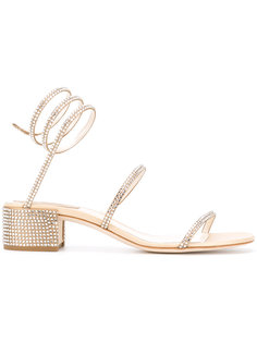 studded rhinestone sandals René Caovilla