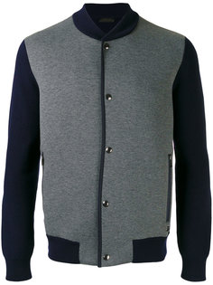 snap-up bomber jacket Z Zegna