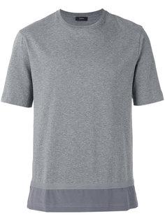 футболка с шелковым подолом Joseph