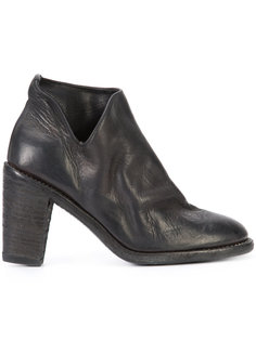 cut-out detail boots Guidi