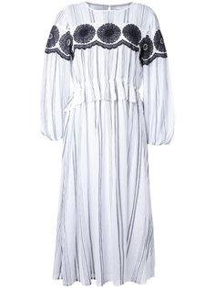 платье миди в полоску Muveil
