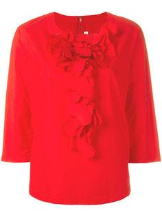 блузка с оборками спереди Comme Des Garçons Comme Des Garçons