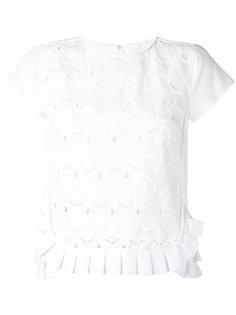 pleated hem blouse Capucci