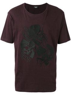 flaming skull T-shirt The Kooples