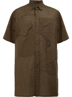 рубашка с короткими рукавами Yohji Yamamoto