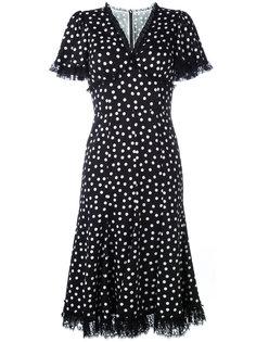 платье с кружевной оторочкой Dolce & Gabbana