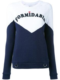 formidable print sweatshirt Zoe Karssen