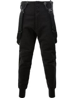 спортивные брюки с подтяжками Junya Watanabe Comme Des Garçons Man