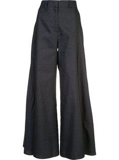 flared godet trousers Peter Pilotto