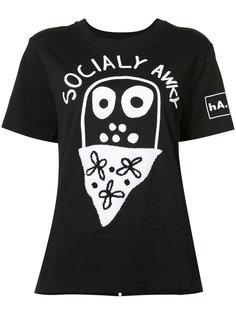 printed short sleeve T-shirt Haculla