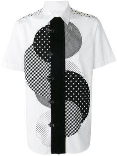 central circle print shirt Ganryu Comme Des Garcons