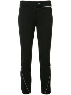 zipped detail cropped trousers Derek Lam