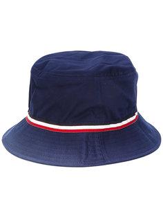 шляпа с полосатой отделкой Moncler
