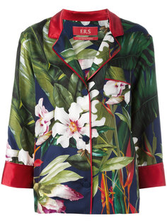 floral print blazer F.R.S For Restless Sleepers