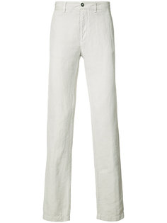 straight leg trousers Massimo Alba