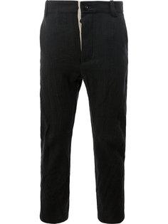 укороченные брюки прямого кроя Cedric Jacquemyn
