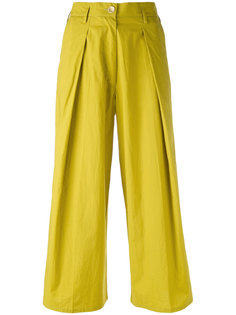 pleated cropped trousers  Forte Forte