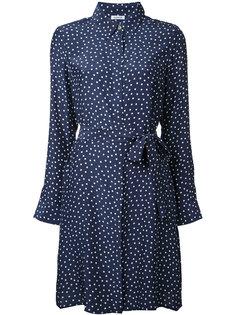 платье-рубашка с принтом в горох  P.A.R.O.S.H.