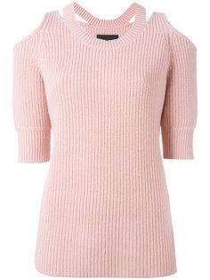 свитер с вырезами на плечах Aristotle  Zoe Jordan