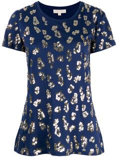 футболка с леопардовым принтом Michael Michael Kors