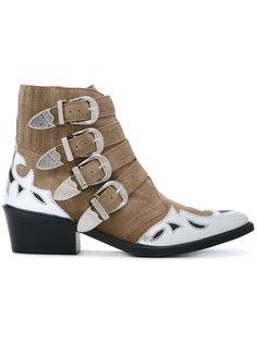 metallic embellished boots Toga Pulla