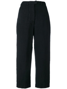 cropped straight trousers Kristensen Du Nord