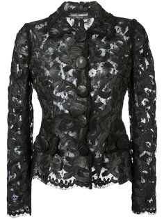 кружевная куртка  Dolce & Gabbana