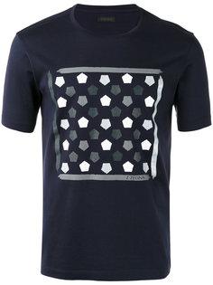 футболка с геометрическим принтом Z Zegna