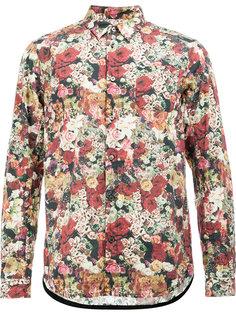 рубашка с принтом роз Undercover