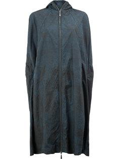 удлиненное фактурное пальто Masnada