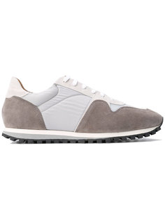 panelled sneakers Closed