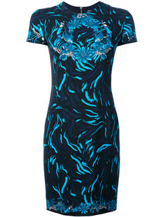 платье с цветочным принтом Versus