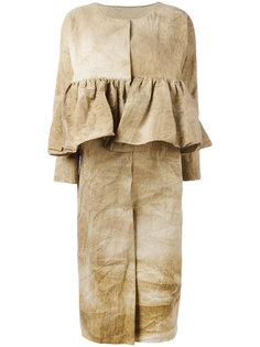 пальто Chikelu с баской Uma Wang