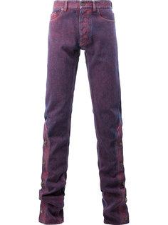 узкие джинсы с пуговицами на штанинах Y / Project
