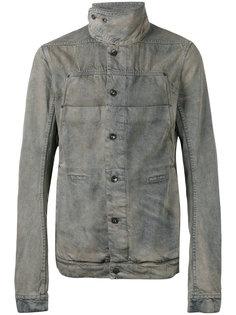 куртка с высоким воротом  Rick Owens DRKSHDW