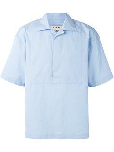 свободная рубашка с короткими рукавами Marni