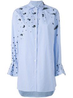 рубашка с рукавами клеш Valentino