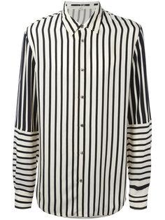 рубашка в полоску McQ Alexander McQueen